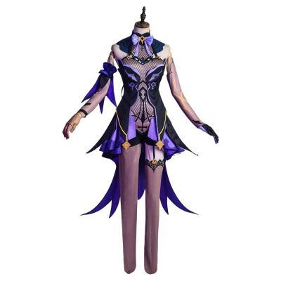 Genshin Impact Fischl Cosplay Kostüm Halloween Karneval Kostüm
