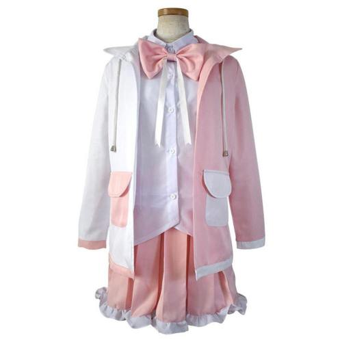 Danganronpa 2:Goodbye Despair Cosplay Monomi Kostüm Usami Uniform Kleid