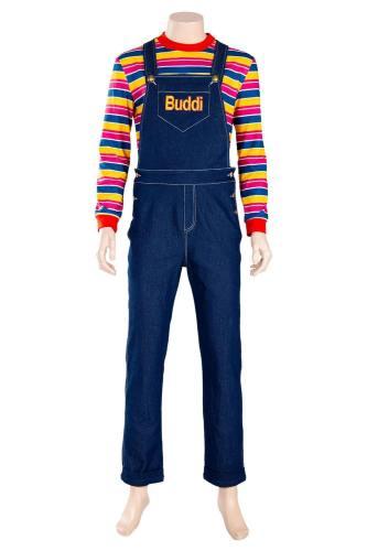 Child's Play Chucky – Die Mörderpuppe Buddi Cosplay Kostüm Erwachsene Kinder
