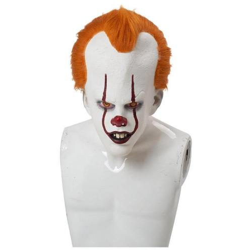 Es: Kapitel 2 Film 2019 Horrorclown Pennywise The Clown Maske Kopfbedeckung Cosplay Maske Requisite