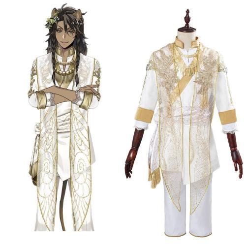 Leona Kingscholar Twisted Wonderland Kostüm Dulex Cosplay Kostüm