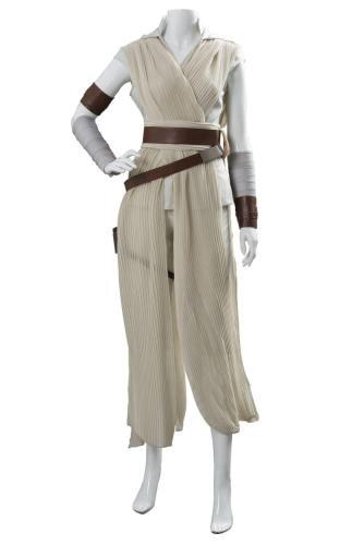 Star Wars 9 The Rise of Skywalker Teaser Der Aufstieg Skywalkers Rey Cosplay Kostüm Version C