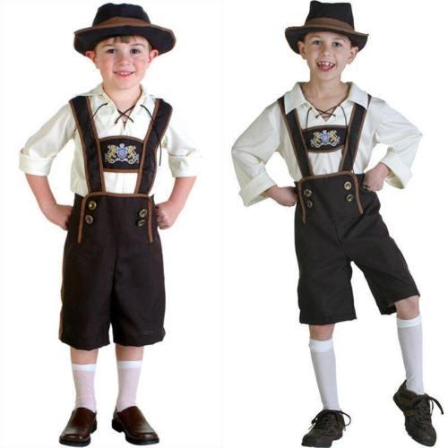 Oktoberfest Beer Festival Kinder Junge Cosplay Kostüm