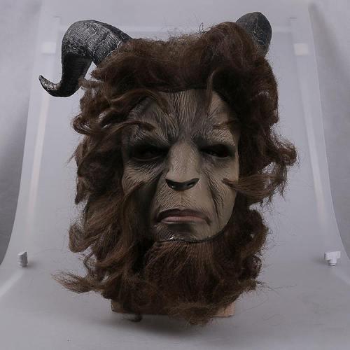 2017 Beauty and the Beast Schönheit und das Biest Dan Stevens Beast Maske Cosplay