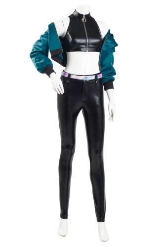 LOL KDA BADDEST KaiSa Kostüm League of Legends KaiSa Cosplay Kostüm