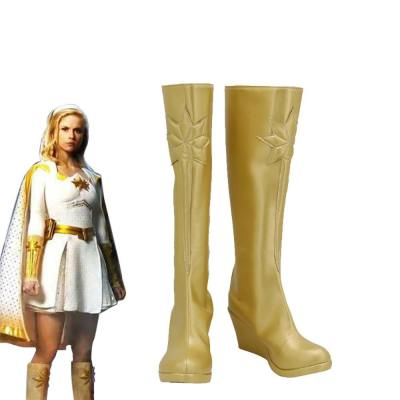The Boys Starlight Annie January Stiefel Cosplay Schuhe