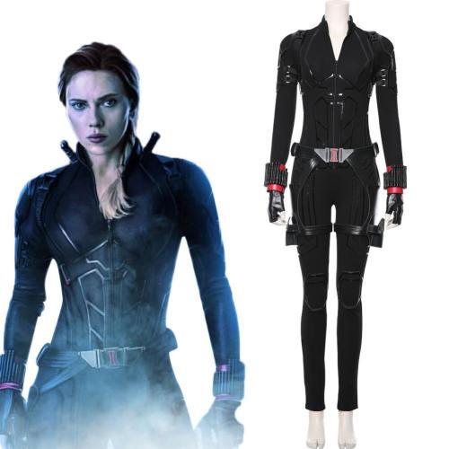 Avengers 4 Avengers: Endgame Black Widow Jumpsuit Cosplay Kostüm Version B