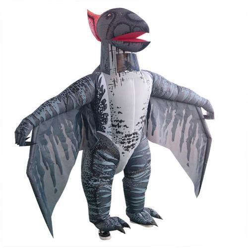 Aufblasbare Flugsaurier Kostüm Fettkostüm Erwachsene T-Rex Jurassic Welt Cosplay Kostüm