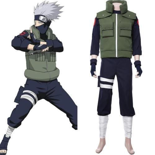 Kakashi Hatake Vogelscheuche Naruto Kakashi Kostüm Cosplay Kostüm