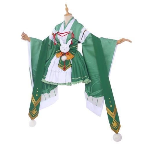 Midoriya Izuku Kleid My Boku No Hero Academia Midoriya Izuku Cosplay Kostüm Kimono Kleid