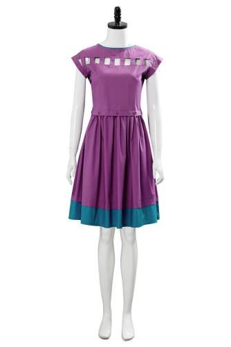 Stranger Things 3 Nancy Wheeler Lila Kleid Cosplay Kostüm Sommerkleid