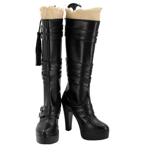 Final Fantasy XV FF 15 Iris Amicitia Stiefel Schuhe Cosplay Schuhe
