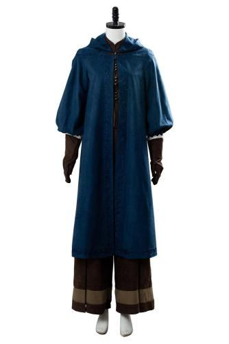 The Witcher False Ciri Cirilla Fiona Cosplay Kostüm Set