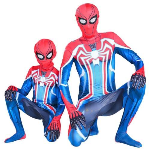Marvels Spider-Man Velocity Suit Jumpsuit Cosplay Kostüm für Erwachsene Kinder Unisex