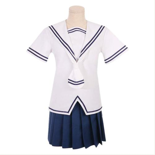 Anime Fruits Basket Tohru Honda Tooru Cosplay Kostüm Summer Schuluniform Matrosenuniform Mädchen