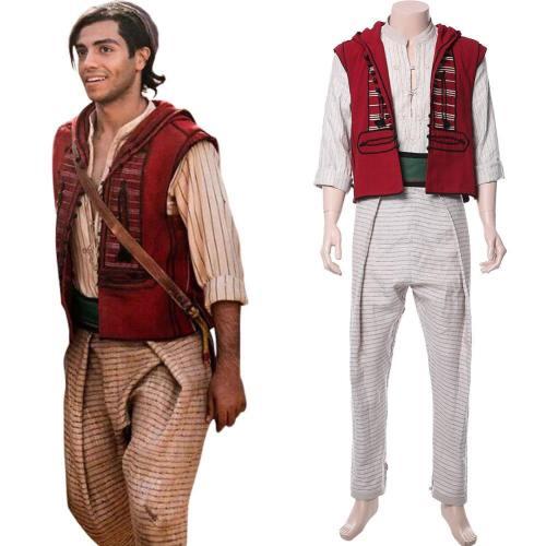 Aladdin 2019 Film Mena Massoud Cosplay Kostüm Version B