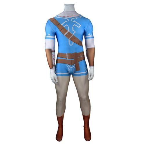 Link The Legend of Zelda Jumpsuit Die Legende von Zelda Jumpsuit Cosplay Kostüm