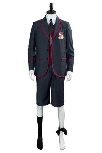 The Umbrella Academy Teenagern Schuluniform Cosplay Kostüm für Kinder