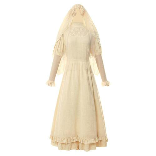 The Curse of La Llorona Lloronas Fluch Kleid Damen Cosplay Kostüm