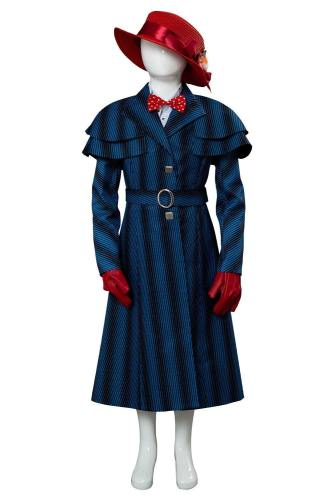 Mary Poppins' Rückkehr Mary Poppins Returns (2018) Mary Poppins Cosplay Kostüm für Kinder
