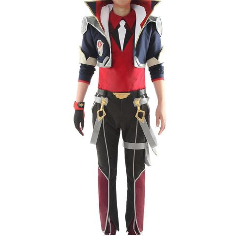 Ezreal League of Legends Kämpfer Champion Uniform Cosplay Kostüm