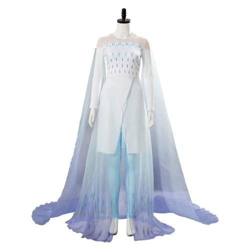 Ahtohallan Königin Elsa Kostüm Elsa Frozen 2 Die Eiskönigin 2 Schneeflocke Cosplay Kleid