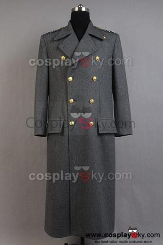 Torchwood Doktor Kapitän Jack Harkness Wollen Trenchcoat  Graue Version