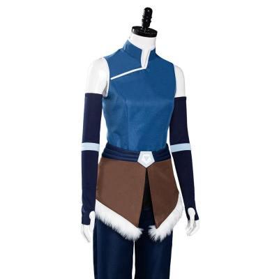 The Legend of Korra Staffel 4 Korra Cosplay Kostüm Outfits Halloween Karneval Kostüm