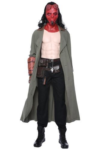 Hellboy – Call of Darkness Halbdämon Hellboy David Harbour Cosplay Kostüm