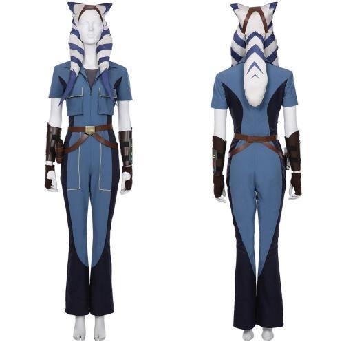 Ahsoka Tano Overall Star Wars: The Clone Wars Staffel 7 Cosplay Kostüm Halloween Karneval Kostüm