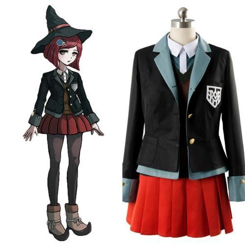 Danganronpa 3 Yumeno Himiko Outfit Uniform Cosplay Kostüm