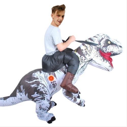 Fatsui Fettkostüm Aufblasbare Dinosaurier Kostüm Erwachsene T-Rex Jurassic Welt Cosplay Kostüm