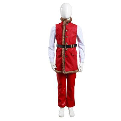 Kinder The Christmas Chronicles Santa Claus Weihnachtsmann Cosplay Kostüm Kinder Mantel Halloween Karneval Kostüm