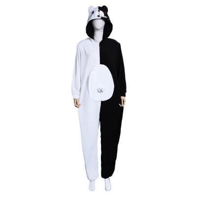Danganronpa Dangan Ronpa Monokuma und Monomi Schlafanzug Cosplay Kostüm Jumpsuit Pajamas auch für Alltag