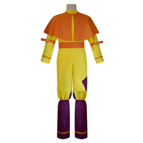 Film Avatar The Last Airbender Avatar Aang Cosplay Kostüm Jumpsuit Halloween Karneval Kostüm