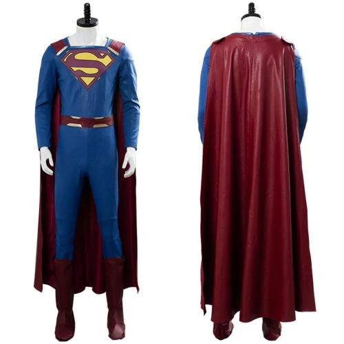 Supergirl - Staffel 2 Superman Jumpsuit Cosplay Kostüm
