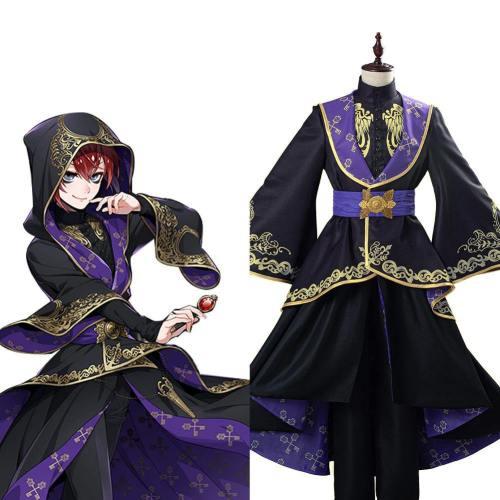 Twisted-Wonderland Cosplay Kostüm Uniform Halloween Karneval Kostüm