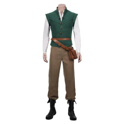 Tangled Flynn Rider Kostüm Eugene Fitzherbert Cosplay Halloween Karneval Kostüm