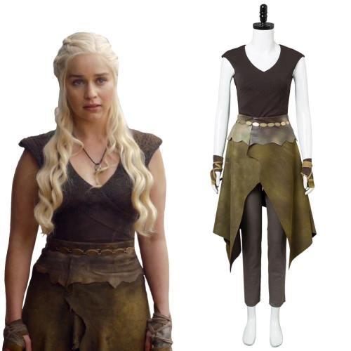 Game of Thrones GOT Staffel 6 Daenerys Targaryen Cosplay Kostüm