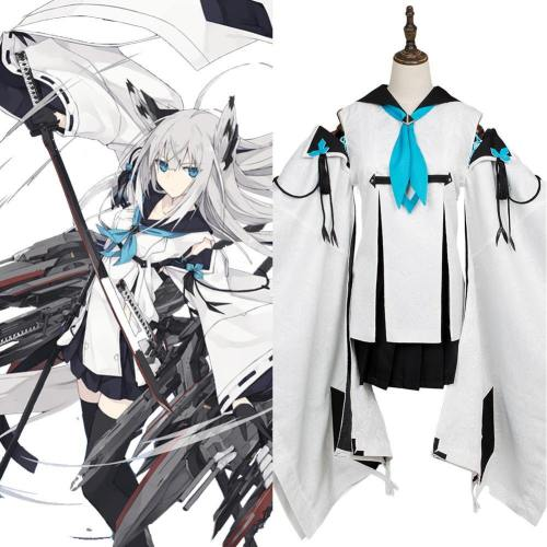Japanese destroyer Azur Lane Kawakaze River Wind Kostüm Cosplay Kostüm