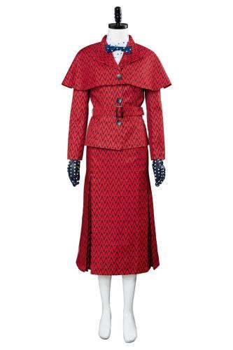 Mary Poppins 1964 Film Mary Poppins Cosplay Kostüm für Damen Halloween Karnival