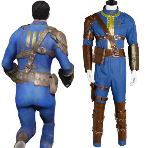 Fallout 4 FO Nate Vault #111 Outfit Jumpsuit Uniform Cosplay Kostüm