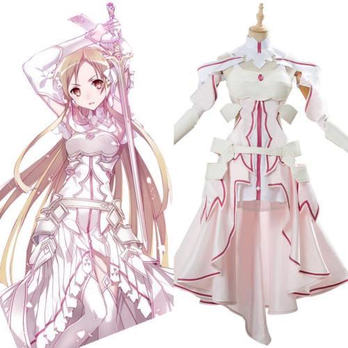 Yuuki Asuna SAO Alicization Sword Art Online Asuna Cosplay Kostüm