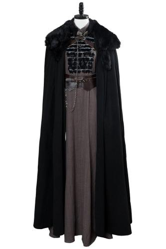 Game of Thrones 8 Sansa Stark Cosplay Kostüm Mantel