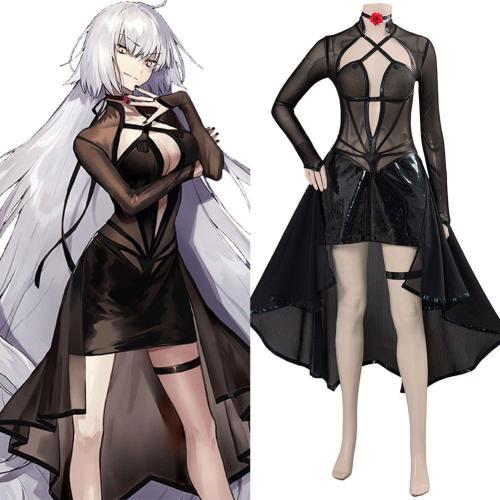 FGO Fate/Grand Order Jeanne d'Arc Alter (J'Alter) Cosplay Kostüm Kleid Halloween Karneval Kostüm
