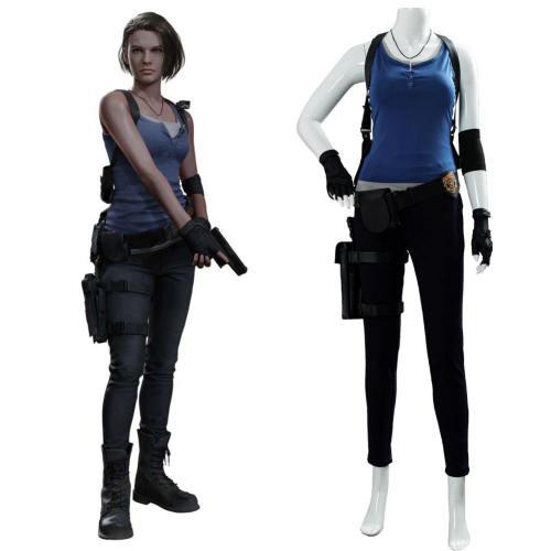 Resident Evil 3 Remake Jill Valentine Cosplay Kostüm