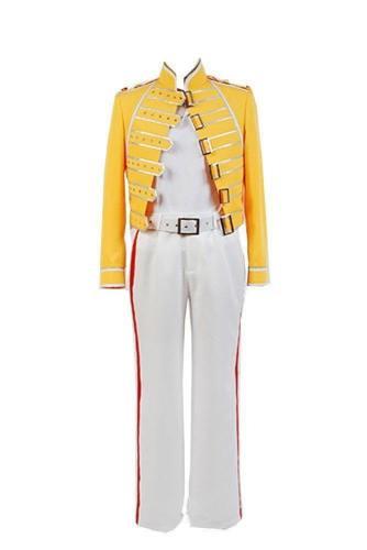 Queen Band Gesang Freddy Mercury Jacke Cosplay Kostüm Kleidung