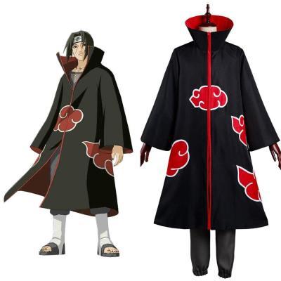 Naruto Akatsuki Uchiha Itachi Cosplay Kostüm Outfits Halloween Karneval Kostüm Set