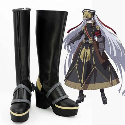 Re:Creators Gunpuku no Himegimi Stiefel Cosplay Schuhe