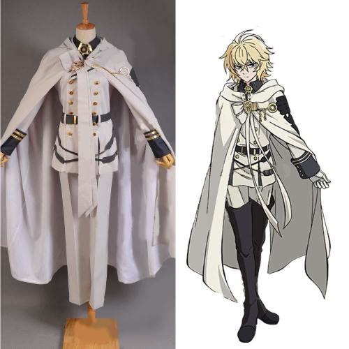 Vampires Mikaela Hyakuya Uniform Outfit Seraph of the End Cosplay Kostüm